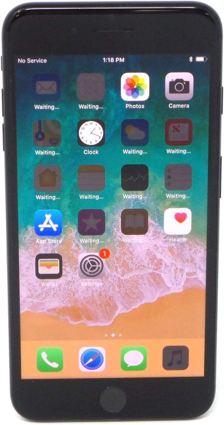 Amazon Com Apple Iphone 7 Plus 32gb Jet Black For At T Renewed