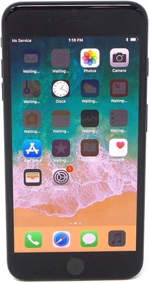 Amazon Com Apple Iphone 7 Plus 256gb Jet Black For At T Renewed