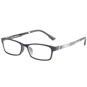 1252356cfa Amazon.com   LianSan Fashion Designed Rectangular TR Reading Glasses Mens  womens Reading Eyeglasses unisex Readers Glasses 8004 (4.00