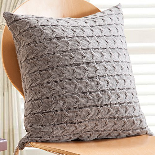Knit Pillow Cover Amazon
