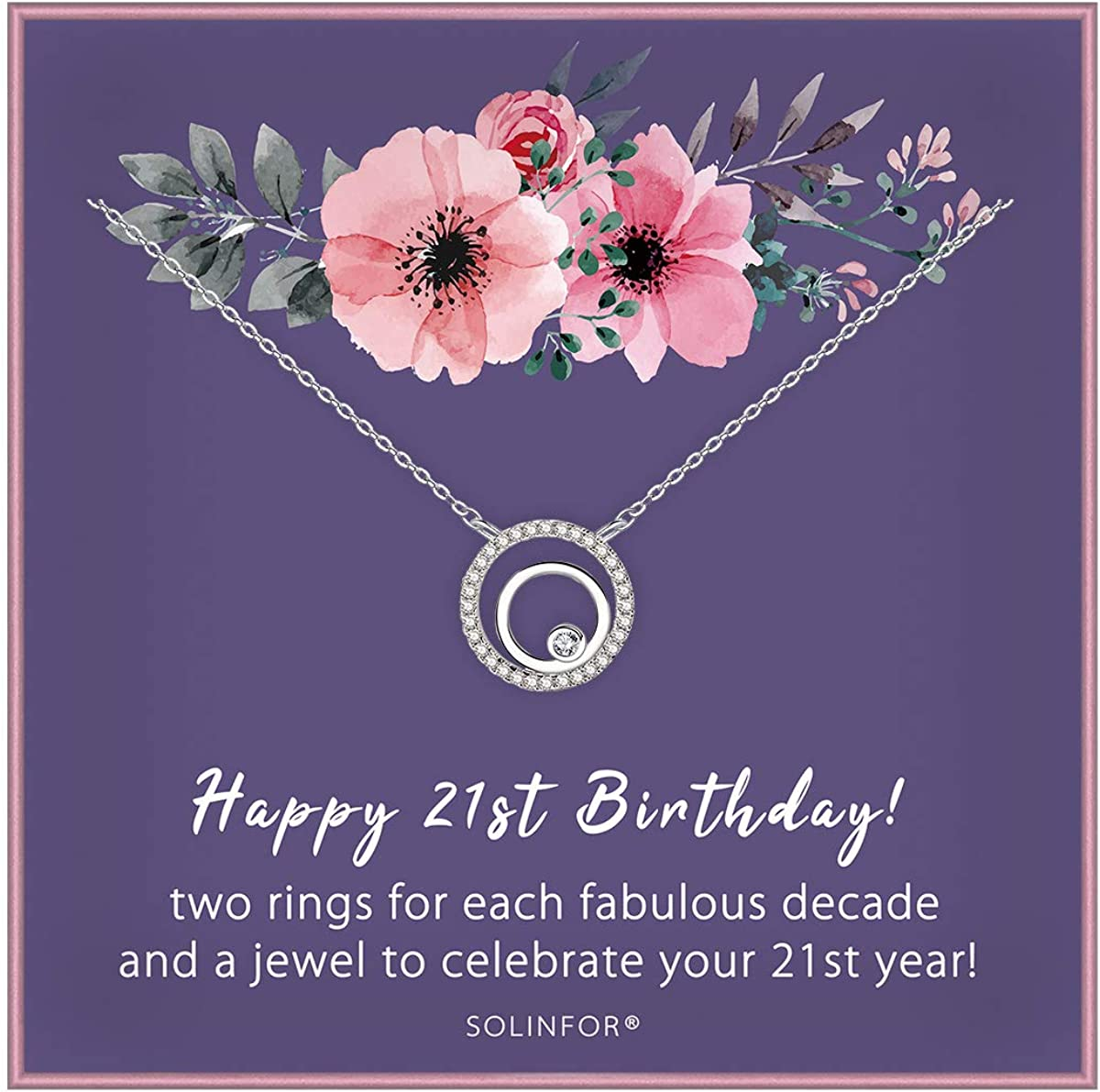 21st Birthday Gifts For Daughter Jewellery