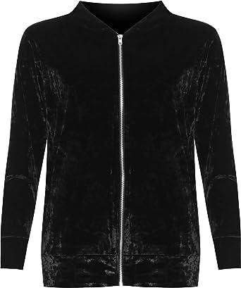 Long sleeve Velvet Bomber Jacket (5 14