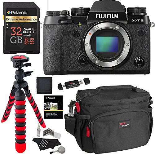 Fujifilm X-T2 Mirrorless Digital Camera Body Only, Polaroid