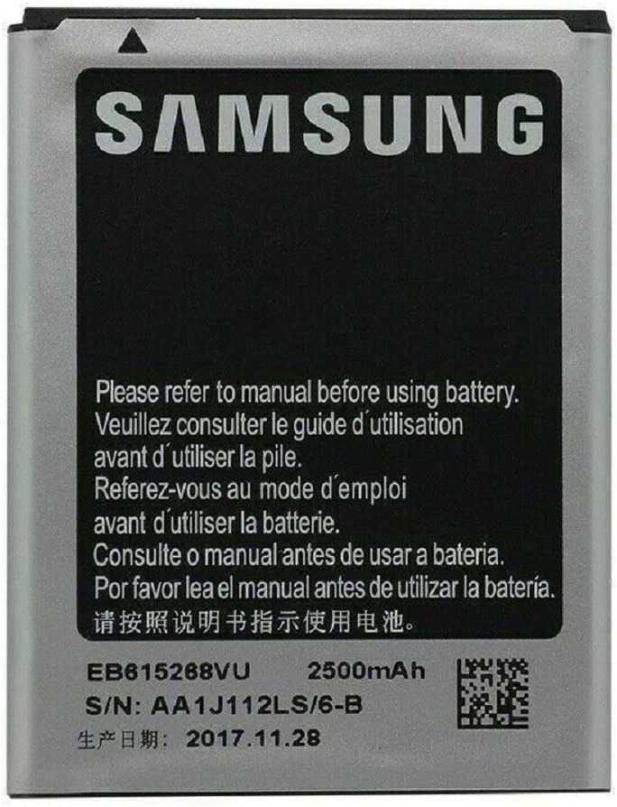 OEM Standard Replacement Battery for Samsung Galaxy Note 1 Sgh-i717 ATT 2500 Mah