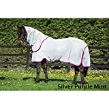 Amigo Bug Rug Fly Sheet 84 Silver/Purple/Mint