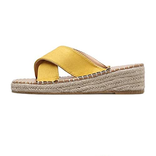 Logobeing Sandalias de Niña Sandalias de Alpargatas Sandalias de Playa con Cuñas Chanclas Moda Verano 2018: Amazon.es: Zapatos y complementos