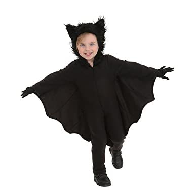 halloween bat costumes for kids with gloves and connect wing small