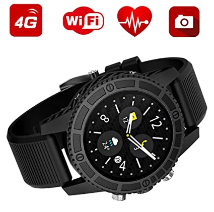Amazon.com: WJ Bluetooth Smart Watch Android 7.0,Blood ...