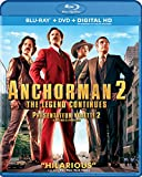 Anchorman 2: The Legend Continues [Blu-ray + DVD + Digital Copy] (Bilingual)