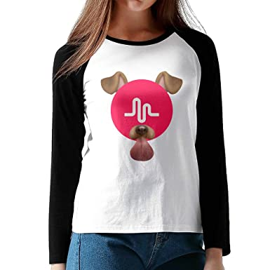 Amazon.com: Loneki Women's Musically Fan Baseball Raglan T-Shirts ...