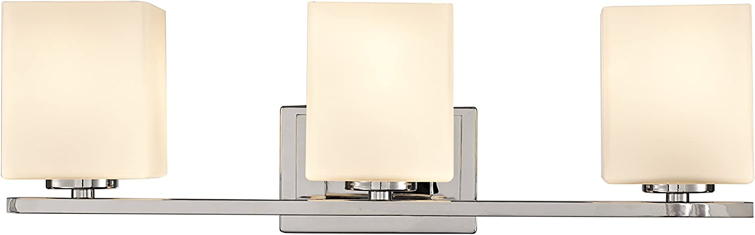 Design House 578492 Karsen 3 Vanity Light, Polished Chrome