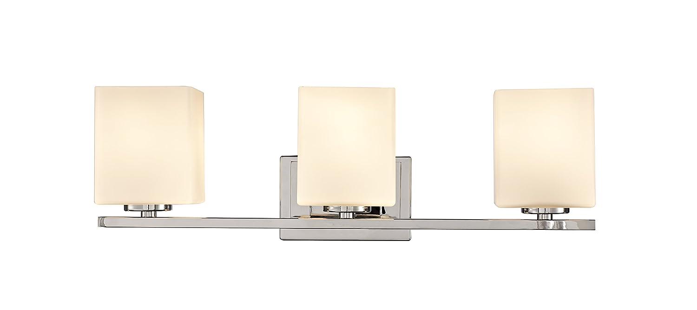 Design House 578492 Karsen 3 Vanity Light, Polished Chrome