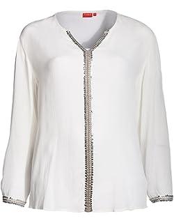 b3afa8ed37df THEA by Adler Mode Damen Bluse - Tunika, Langarmshirt, Blusenshirt, Shirt -  Große