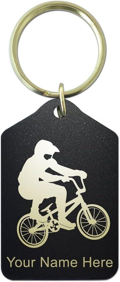 Llavero – para bicicleta BMX Rider – personalizado grabado ...