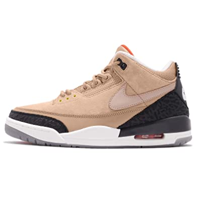 huge selection of 6e902 7182b Amazon.com | Jordan Men's Air 3 Retro JTH NRG, BIO Beige/BIO ...