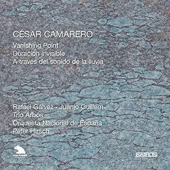 Camarero: Vanishing Point, Duracion invisible & A través del sonido de la lluvia de Orquesta Nacional de España & Trio Arbos en Amazon Music - Amazon.es