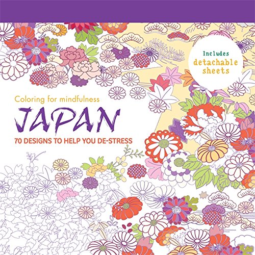 Japan: 70 designs to help you de-stress (Coloring for Mindfulness) PDF