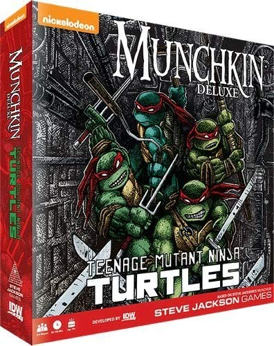 IDW Games Teenage Mutant Ninja Turtles Munchkin Card ()