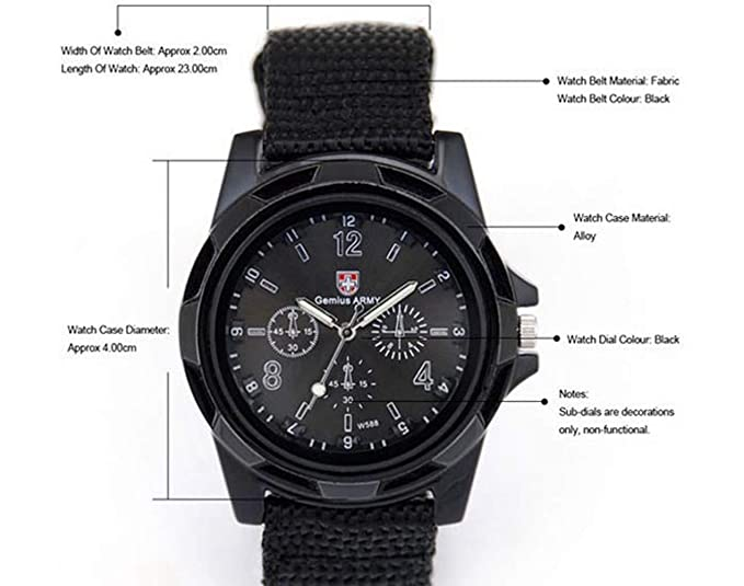 Amazon.com: Watches for Men,Clearance Mens Classic Quartz Watch,Wugeshangmao Boys Fashion Army Racing Force Military Sport Wrist Watch Business Casual ...