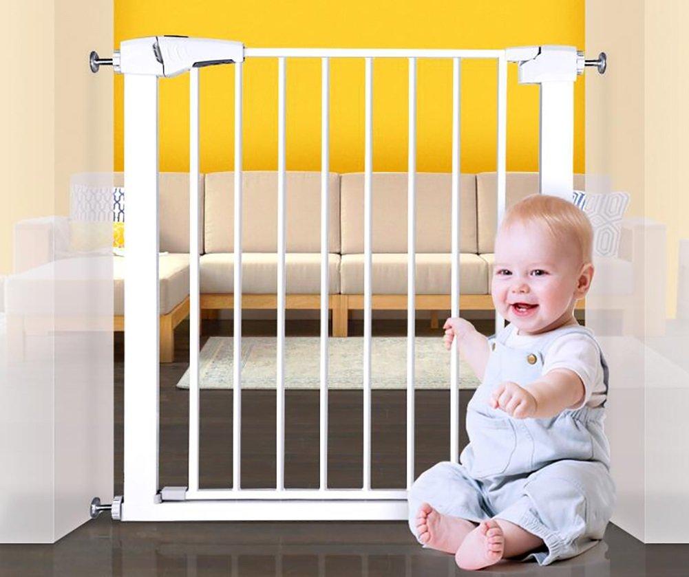 トップの階段ベビーゲートペットドアのベビーゲート子供の遊び場の暖炉ベビーゲートホワイトゲート (サイズ さいず : 63-70cm) 63-70cm  B07DJ1YLRB