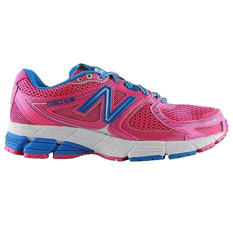 new balance zapatillas mujer rosas y blancos