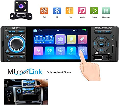 Hodozzy Autoradio Bluetooth con Pantalla T/áctil HD de 9 Radio Coche Android para VW Soporte Est/éreo Doble DIN para Coche WiFi FM Enlace Espejo C/ámara de Marcha Atr/ás Navegaci/ón GPS