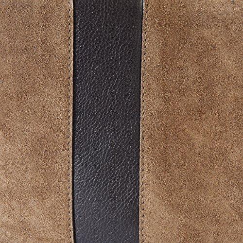La Redoute Collections Frau Shopper, Leder Gre Taille Unique Braun