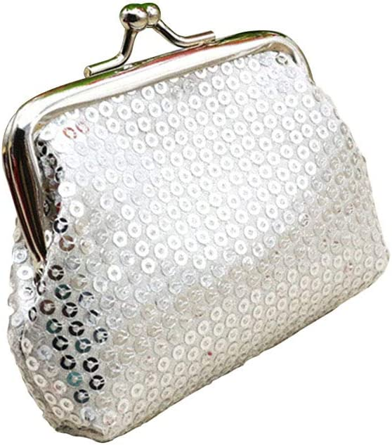 iTemer Shiny Coin Purse Bag Change Cash Bag Small Purse