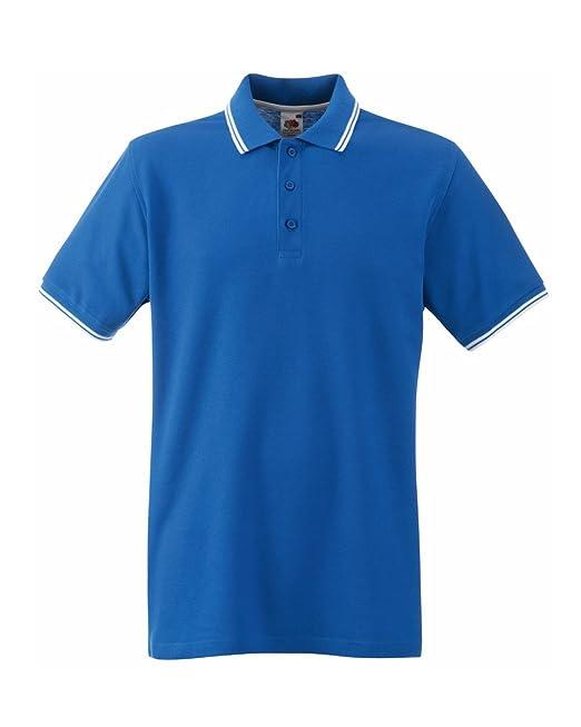 große Auswahl an Farben und Designs UK-Shop ein paar Tage entfernt Fruit of the Loom Herren Poloshirt, 100% Baumwolle, kurzärmelig