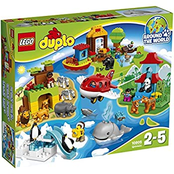 lego duplo big zoo toys games