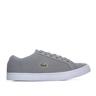 d184926374043 Lacoste Junior Boys Straight Set 118 Trainers in Grey  Amazon.co.uk ...