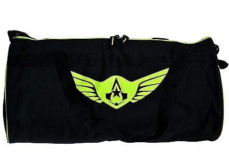 Image Unavailable. Image not available for. Colour  AUXTER Polyester Large  Black Gym Bag ... ecfa12bc2c9c3