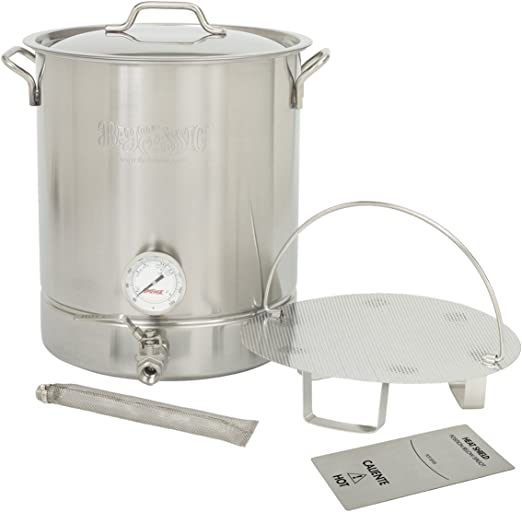 Bayou Classic 10 Gallon Stainless Steel 6 Piece Brew Kettle Set Amazon Ca Patio Lawn Garden