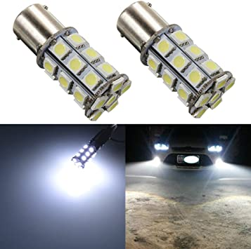 2ps Back up Reverse Led Lights 800 lumens Extremely Bright Error Free 921 912 PX Chipset light 2pcs, Blue