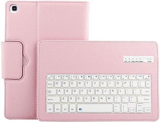 Funda para tablet Samsung Galaxy Tab A 10.1 2019 SM-510 T515, funda para teclado Bluetooth Unhaufu1 antiarañazos funda protectora para cámara Rosa: Amazon.es: Relojes