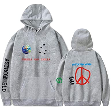 faf77621148e ZXTY Travis Scott Astroworld Hoodies Fashion Letter Print Pullover ...