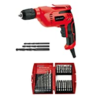 Toolman Electric Power Drill Driver 3/8'' 5A with drill set 29pcs 5207Q08