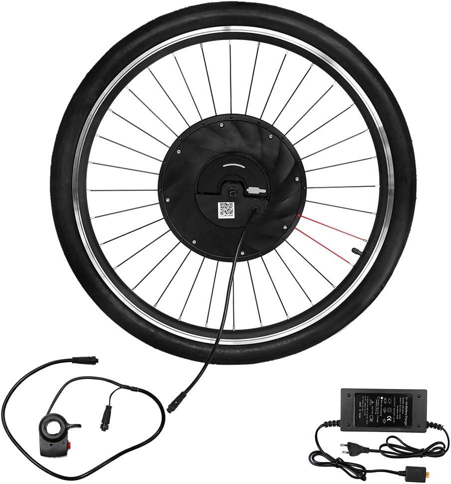 Lixada 700x23c Rueda Delantera Eléctrica Bicicleta Disco/v Freno ...