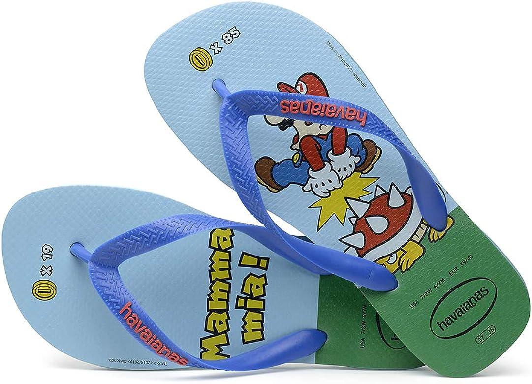 Super Mario Toddler and Kids Flip Flop Thong Sandals