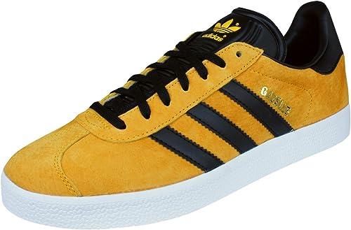chaussure adidas jaune et noir