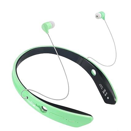 Aoslen Auriculares Bluetooth Inalámbricos, Con Cancelación Del Ruido, Impermeables, Con Micrófono Incorporado Para