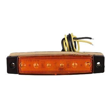 Hongfei 1 Stück LKW Bus Bootsanhänger LED-Licht 6LED ...