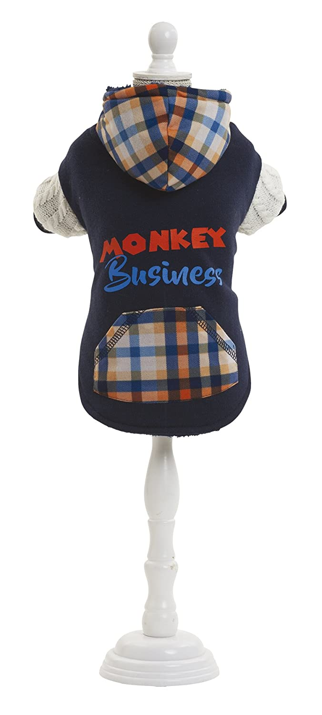 Pet Apparel Sweatshirt Monkey (XS)