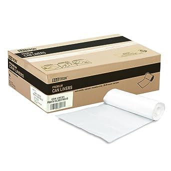 Amazon.com: BAGTRON 1000 bolsas para bote de basura, negro ...