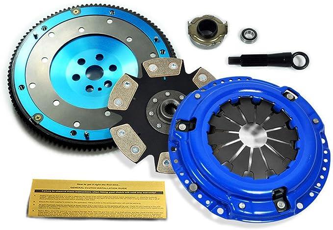 01-05 Civic 1.7L 93-95 Civic Del Sol D15 D16 D17 ClutchMaxPRO Performance Stage 2 Clutch Kit Compatible with 92-00 Honda Civic 1.5L 1.6L