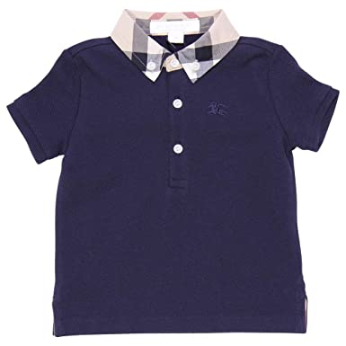 BURBERRY الرضيع قميص بولو بربري من قطن البيكيه Mod. 402484341190B ... 8a79dc3ea08
