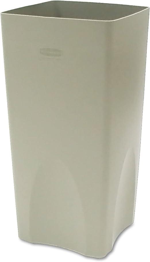 Rubbermaid Commercial 19gal Plastic Rigid Liner Beige