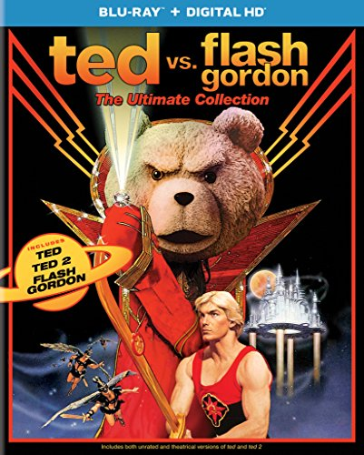 Ted vs. Flash Gordon: The Ultimate Collection (Ted / Ted 2 / Flash Gordon) [Blu-ray]]()