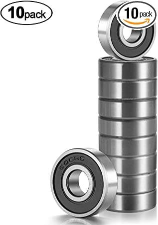 10 Pcs Plastic 608 8mm*22mm*7mm Miniature Ball Bearings!