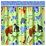 Olive Kids Wild Animals Shower Curtain